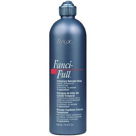 Roux Fanci-Full temporanei capelli Sciacquare colore–# 18Spun Sabbia 450ml (Confezione da 2)