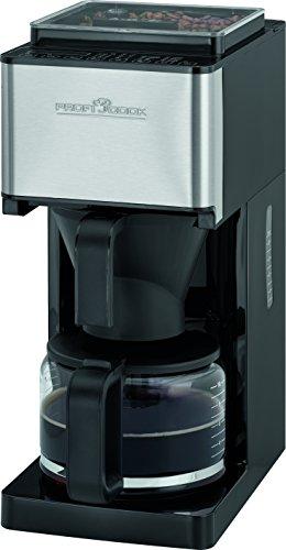 ProfiCook PC-KA 1138, 2in1 Kaffeeautomat mit Mahlwerk (1-14 Stufen) für ca. 8-10 Tassen (1,25...