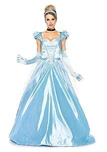 Leg Avenue- Cenicienta Mujer, Color azul, Large (EUR 42-44) (8551803038)