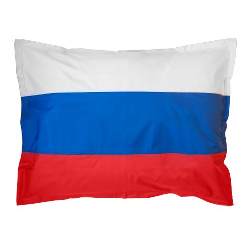Lumaland XXL Länderflaggen Riesensitzsack Russland 380l Füllung 140 x 180 cm Indoor Outdoor Original