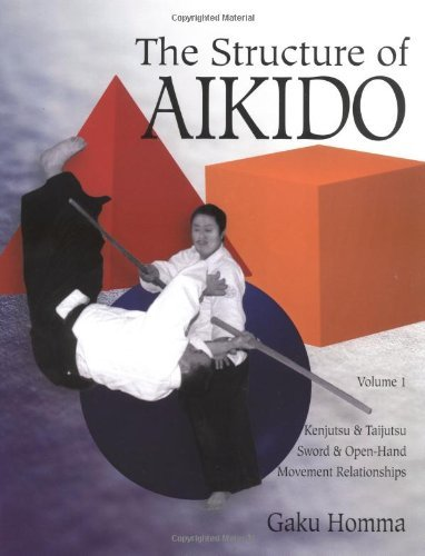 The Structure of Aikido: Kenjutsu and Taijutsu Movement Relationships v.1: Kenjutsu and Taijutsu Movement Relationships Vol 1 by Gaku Homma (16-May-1997) Paperback