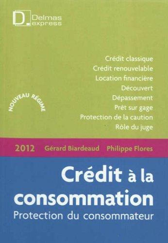 Crédit à la consommation : Protection du consommateur