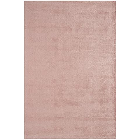 alfombra contemporáneo de fibra vegetal Alfombra Aran 120X180cm Rose Pink Rose