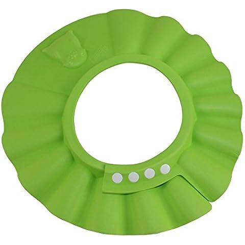 Dianoo sicuro shampoo doccia bagnarsi bagno proteggere morbido berretto cappello per bambino e bambini