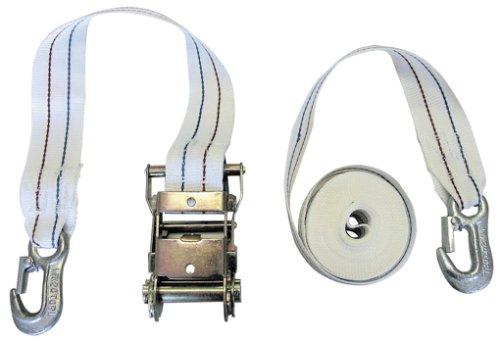 Preisvergleich Produktbild Kerbl Zurrgurt zweiteilig mit Ratsche / Karabiner 6m,  5cm