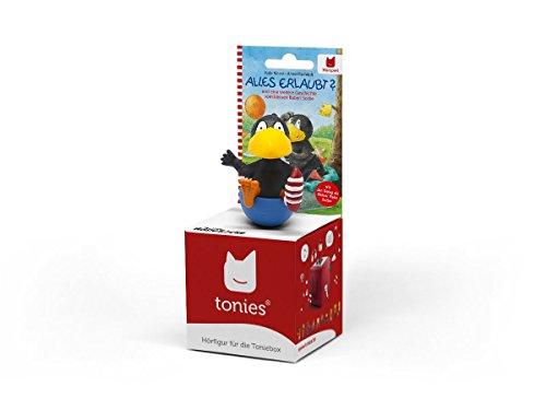 Preisvergleich Produktbild Boxine 10601-1033 - Tonie Rabe Socke Alles erlaubt, Lernspielzeug