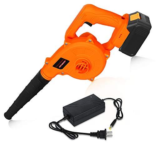 Bsioff YN-8010 - Soplador de hojas eléctrico ion de litio, volumen de aire 2,8 m3, potencia nominal...