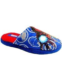 Marvel Spider MANciabatte Sandali Pantofole Gomma per Bimbo Art.SPPA910 (27, Blu)