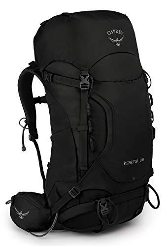 Osprey Kestrel 38 Trekkingrucksack für Männer - Black (M/L)