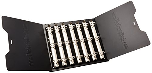 Völlig Tiffany ScrapRack Basic, Metall, schwarz (Storage Rack Record)
