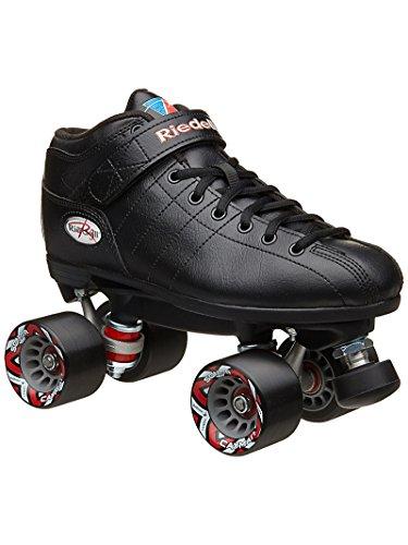 Unbekannt Riedell Schlittschuhe R3Roller Skate, Unisex, schwarz