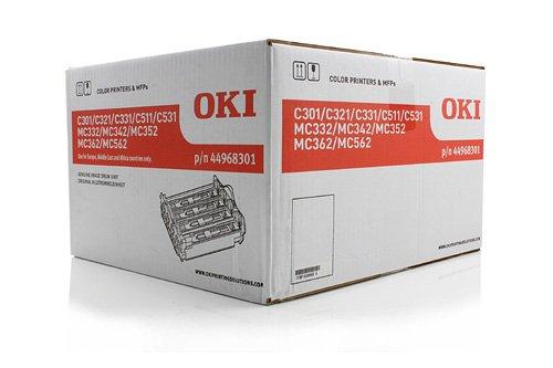 Preisvergleich Produktbild Original Bildtrommel passend für OKI MC 562 DN OKI C321 44968301 - Premium Trommel - Farblos - 30.000 Seiten