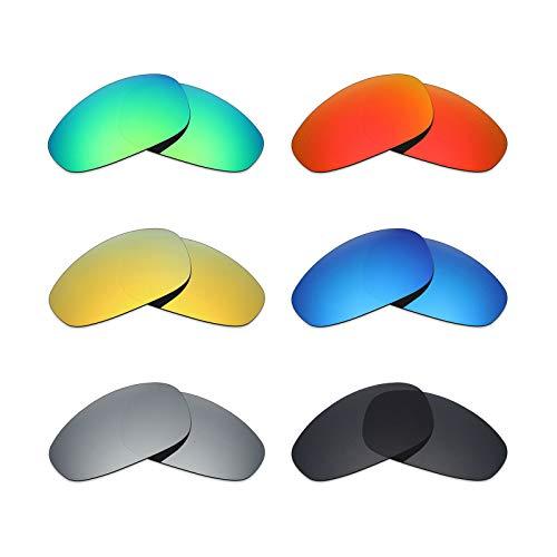 MRY 6Paar Polarisierte Ersatz Gläser für Oakley Juliet Sonnenbrille