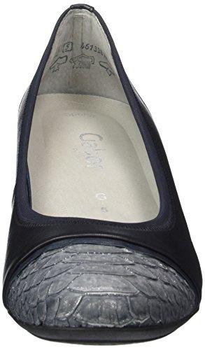 Gabor - Gabor Comfort, Scarpe col tacco Donna Blau (86 river/grigio/anthr)