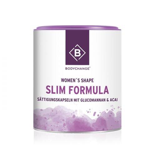 Sättigungskapseln - BodyChange Slim Formula mit Glucomannan und Acai (90 Kapseln) - Abnehmen - Diät - Vegan -