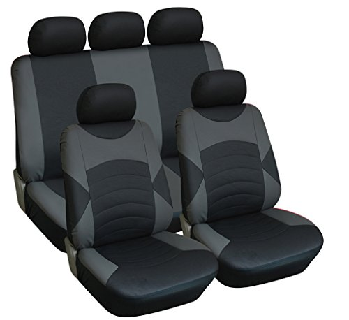 infiniti-fx-09-on-full-set-luxury-leather-look-seat-covers-front-rear-black-grey