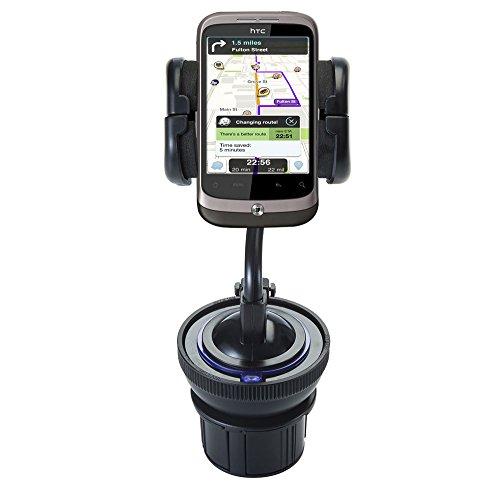 Verstellbare Mehrzweckhalterung - HTC Buzz Handyhalterung und Saughalterung für die Windschutzscheibe