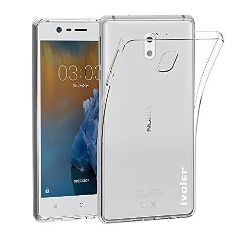 Coque Nokia C3 - Coque Nokia 3, iVoler Etui Housse Mince