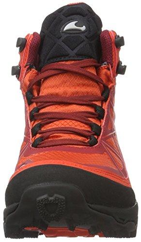 Viking Unisex-Erwachsene Ascent Ii Trekking-& Wanderhalbschuhe Rot (Red/Dark Red 1052)