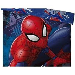 Juego de cama infantil Spiderman–Funda de edredón Reversible + funda 140x 200+ 63x 63cm