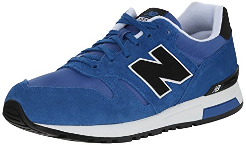 New Balance Ml565 D Mens Sneakers Azul Preto