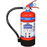 Eco Fire ABC Powder Type 4 Kg Fire Extinguisher (Red)