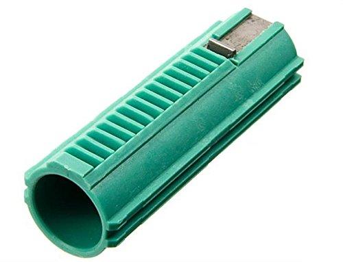 SHS 15Zähne (1Stahl Zähne) Kolben Replica (grün) für Planspiel Airsoft Jagd Shooting Softair (Kolben Airsoft Stahl)