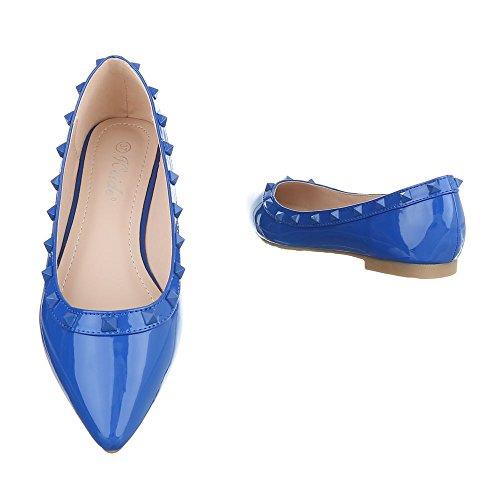 Ital-Design, Ballerine donna Blau XY02