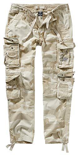 Brandit Pure Slim Fit Trouser - Sandstorm - - Polizisten Kostüm Männer
