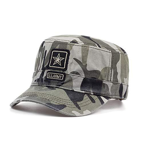 SHENBEIK Baseball Cap Herren Baumwolle Camo Baseballmütze Für Männer Frauen Camouflage Airforce Army Caps Gestickte Taktische Hut Einstellbar Camouflage -