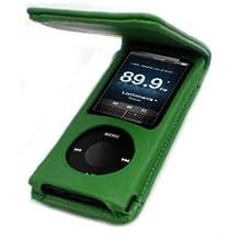 Colo negro 5 g-Funda con tapa para iPod nano de 5ª generación 8 Go y 16 Go