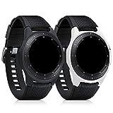 kwmobile Protezione Schermo per Samsung Galaxy Watch (42mm) - in Silicone Rivestimento Protettivo -...