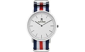 Ralph Pierre Analog White Dial Unisex's Watch - W4003G-1