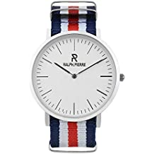 Ralph Pierre Analog White Dial Unisex's Watch - W4003G-1
