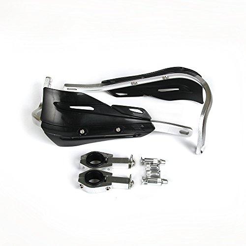 GOOFIT 2,5/cm en alliage daluminium de guidon Brosse /à Main Guards Protector Prot/ège-mains kit pour Honda Kawasaki Yamaha Suzuki Motocross Moto Off-road Pit Dirt bike ATV