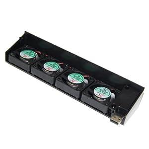 USB-Kühlventilator 4-Kühler Für Sony Playstation 3 PS3
