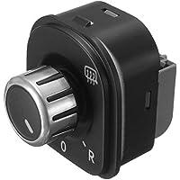 longyitrade Interruptor de Espejo retrovisor Lateral para Coche, Interruptor de Perilla de Ajuste para VW