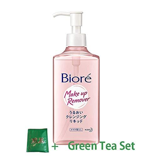 Kao Biore | Make-up Remover | Mild Cleansing Liquid 230mliGreen Tea Set)