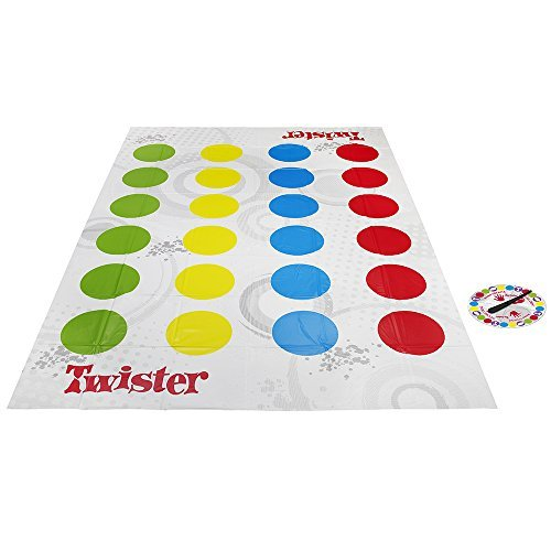 Hasbro Gaming   Juego de suelo Twistter (98831175) (versión española/portuguesa)