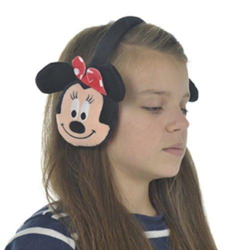 te Disney Minnie Maus Charakter Rote Schleife Ohr Puffs Earmuffs (Disney Charakter-outfit)