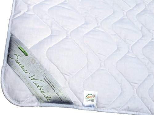 Sommerdecke 135x200 Bettdecke Sommer Wild-Seide Baumwolle Oeko-Tex® Standard 100 Gabriela -