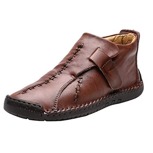JujiaShoes Scarpe Da Uomo Mocassini Con Fodera Quadrata In Pelle Sneakers Pelle Uomo Scarpe Da Lavoro Stivale Traspirante Mocassini Uomo Eleganti Scarpe Classiche Uomo Eleganti Antiscivolo