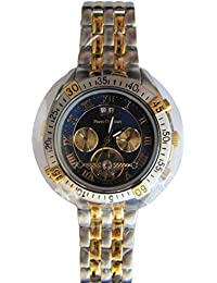 Pierre pantalones Bert Herren-reloj analógico de pulsera automático acero inoxidable HEWM1027
