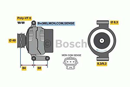 BOSCH 0986049670 Generator
