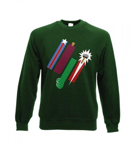 Vereinte Farben der Rache T-Shirt für Erwachsene Tasse Bottle Green