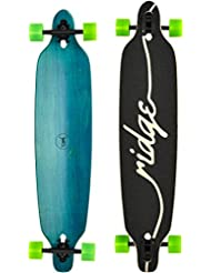 """Ridge Skateboards - Regal Series Canadian Maple Laser Cut 8-Ply Twin Tip 41"""" Longboard"""