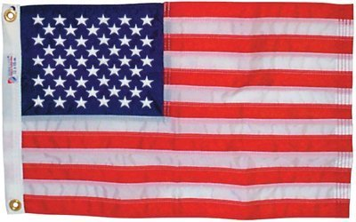 Nyl Glo Nylon (Annin nyl-glo Nylon Outdoor U.S Flag (2x 3-feet Sewn) by ACR Electronics)