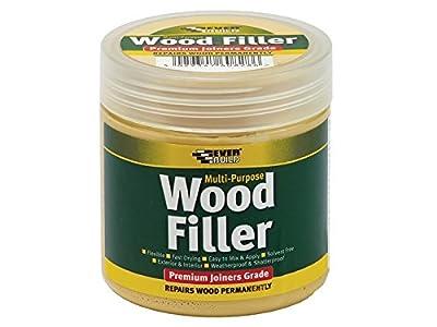 Everbuild Multipurpose Wood Filler Range - inexpensive UK light store.