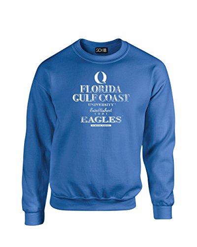 SDI NCAA Stacked Vintage Crew Neck Sweatshirt, königsblau, Medium