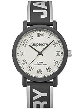 Damen Supergroup Armbanduhr Modell Campus Silber und Grau–syl196ee